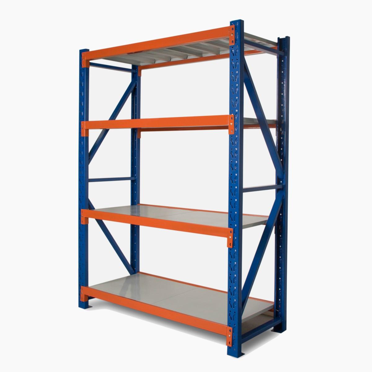 Heavy duty storage shelving 2400h x 1200w x 600d united storage