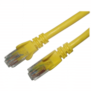 cat5e yellow patch leads picture main
