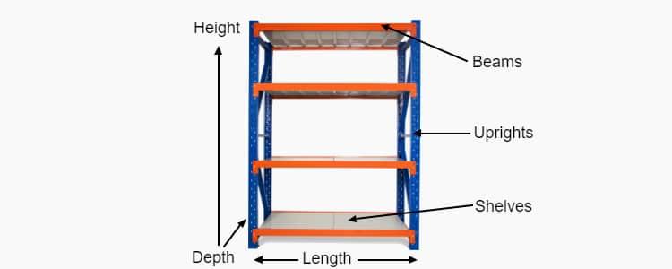 longspan_shelving_components